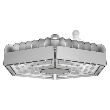 LED version - RAL 9006 grey - IP65- Class I - DALI driver