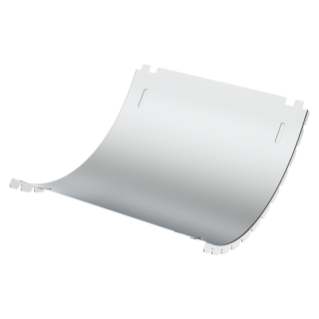 COVER FOR CONCAVE RISING CURVE  - BRN  - WIDTH 215MM - RADIUS 150° - FINISHING HDG