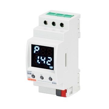 KNX single-phase energy meter for direct connection