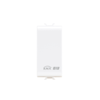BLANKING MODULE FOR HOUSING CONTACTS INTERFACE - 2/4 CHANNELS - 1 MODULE - WHITE - CHORUS