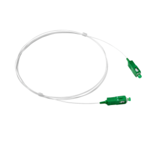 SC/APC - SC/APC SINGLE-FIBER OPTIC CABLE - 2M - WHITE