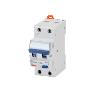 COMPACT RESIDUAL CURRENT CIRCUIT BREAKER WITH OVERCURRENT PROTECTION - 2P CURVE B 32A 10KA TYPE F Idn=0,03A - 2 MODULES