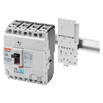 Brackets for fixing on din rail