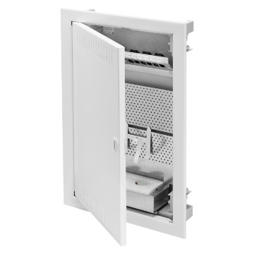 Multimedia enclosures for plasterboard (GWT 850 °c) walls - RAL 9016