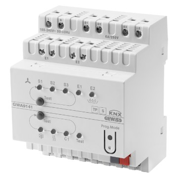 KNX fan coil actuator 0-10V - IP20 - DIN rail mounting