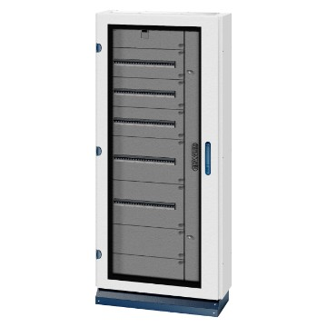 QDX 630 L range Modular distribution boards up to 630A - IP43