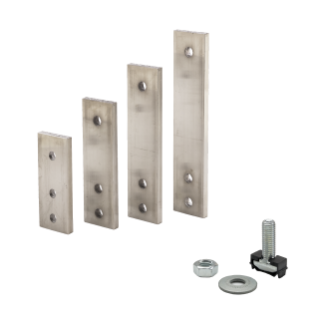 JOINTS FOR FOR ALUMINIUM SHAPED BUSBARS - 4 PIECES - 1250/1600A