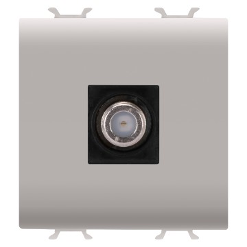 Coaxial TV-SAT sockets (5-2400 Mhz), class A shielding - female F connector