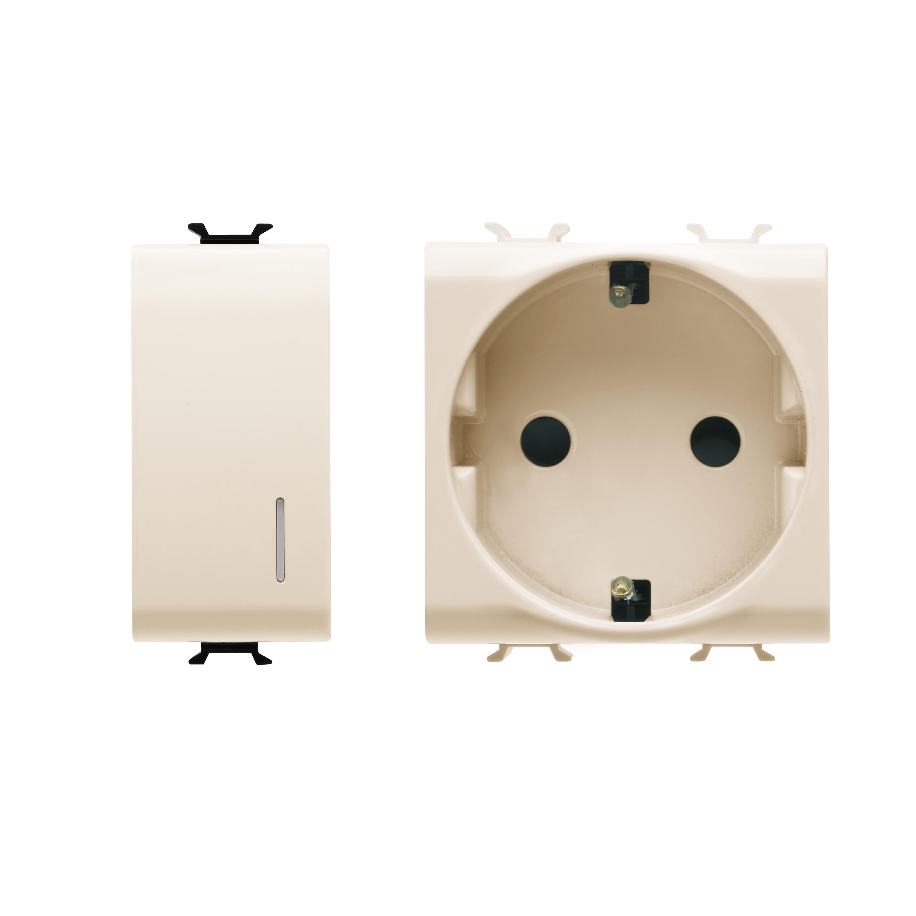 bianco 1,5 m di lunghezza con connettori tipo F in dotazione con un kit accoppiatore tipo F. Cavo coassiale Satellite maschio a maschio