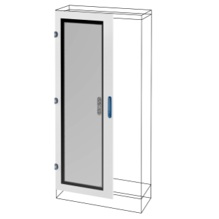 GLASS DOOR - QDX 630/1600 H - 850X2000MM