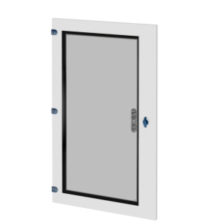 GLASS DOOR - WALL-MOUNTING DISTRIBUTION BOARD - QDX 630 H - 850X1000