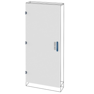 BLIND DOOR - QDX 630 L - FOR STRUCTURE 600X1000MM