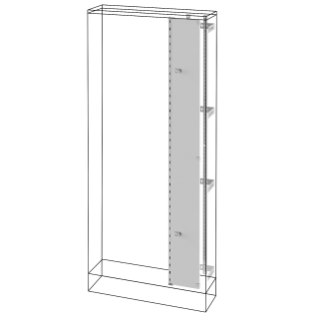 INTERNAL COMPARTMENT - QDX 630 L - FOR STRUCTURE 850X1800X300MM