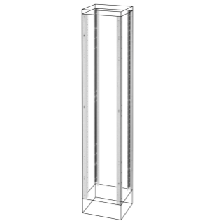 UPRIGHTS AND FUNCTIONAL FRAMES - EXTERNAL COMPARTMENT - QDX 630 H - 400X1600MM