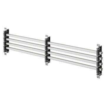 Pair of busbar-holders for vertical aluminium shaped busbars for QDX 630H distribution boards