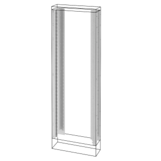 UPRIGHTS AND FUNCTIONAL FRAMES - FLOOR-MOUNTING DISTRIBUTION BOARDS - QDX 630 H - 1800X400MM