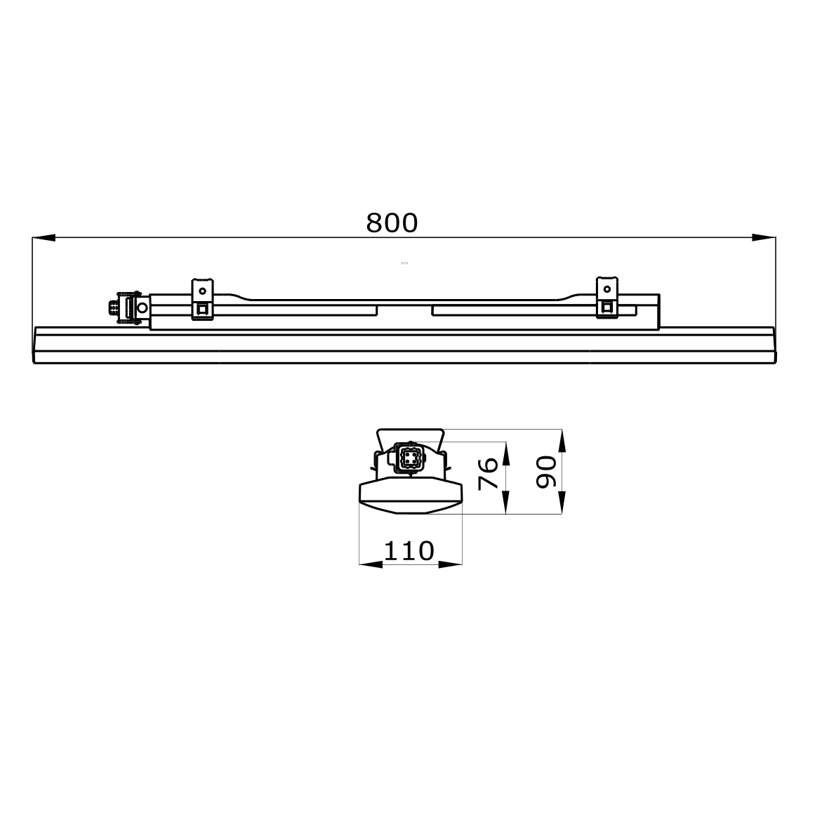 Luminaire - GWS3118PLD | Gewiss
